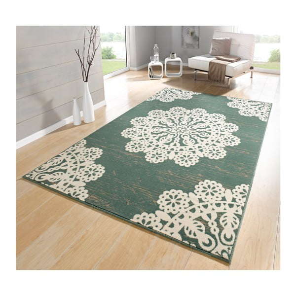 Zielony dywan Hanse Home Gloria Lace, 160x230 cm