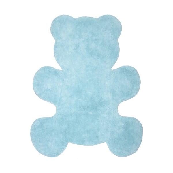 Niebieski dywan dziecięcy Nattiot Little Teddy, 80x100 cm