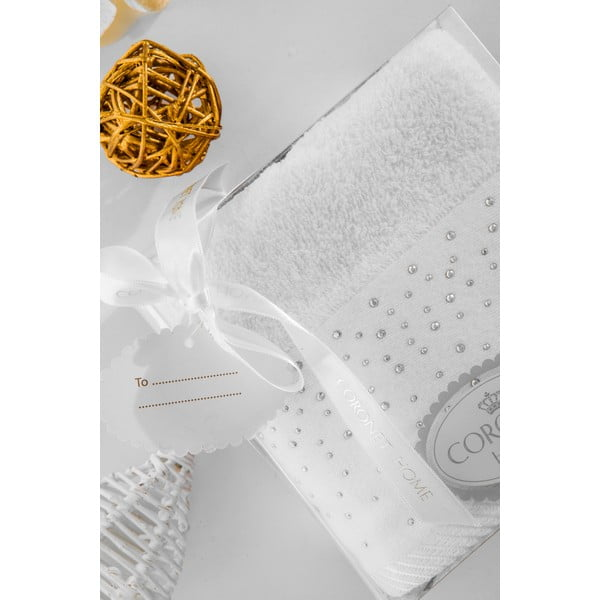 Ręcznik w opakowaniu podarunkowym Christmas V10, 50x90 cm