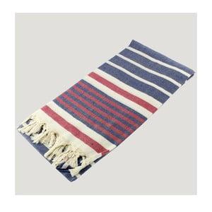 Ręcznik hammam Bath Style Navy, 90x180 cm