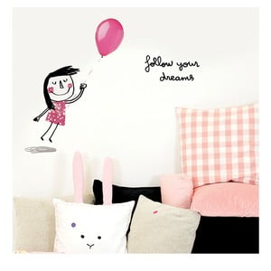 Naklejka Chispum Follow Your Dreams Girl