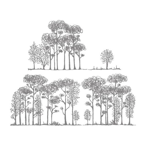 Naklejka Forest, 117x28 cm