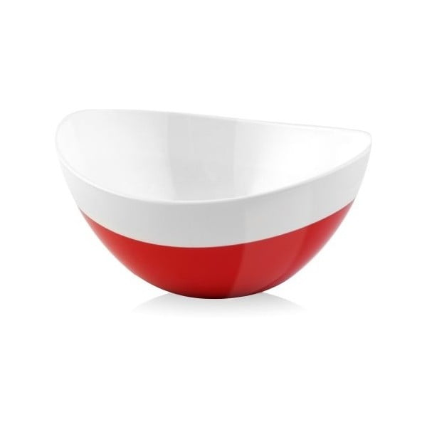 Miska Livio, czerwona, 15 cm