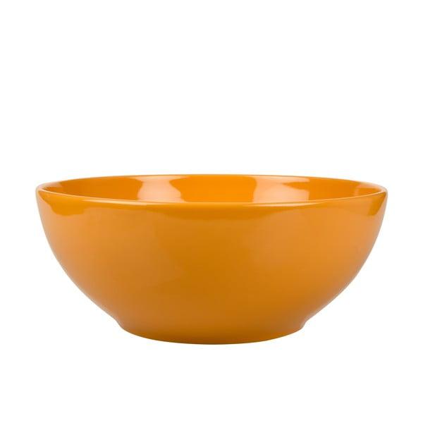 Miska sałatkowa Kaleidoskop, pomarańczowa