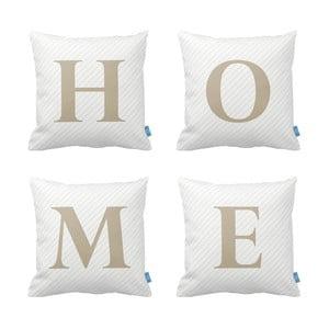 Zestaw  4 poduszek Homemania Home, 43x43cm
