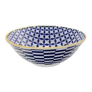 Porcelanowa miska Geo Noodle Geometric No3, 21x7,8 cm