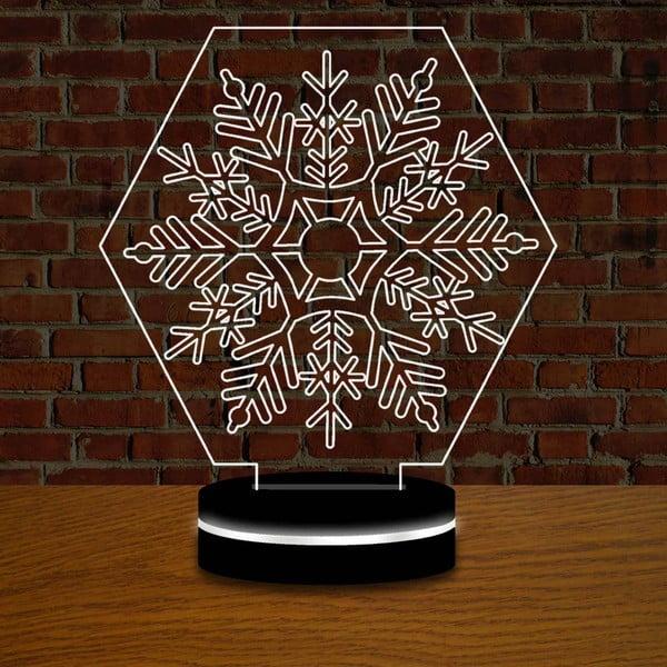 Lampa z efektem 3D Christmas no. 8