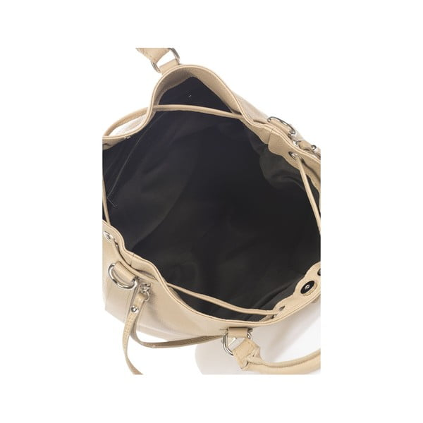 Beżowa torebka skórzana Krole Kenna
