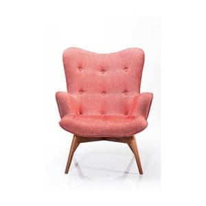 Różowy fotel Kare Design Angels Wings