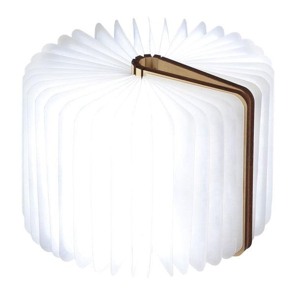 Lampa stołowa LED w kształcie księgi z drewna klonowego Gingko Mini