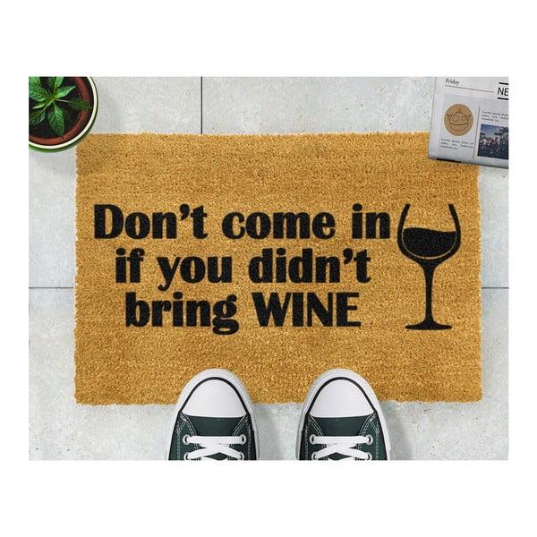 Wycieraczka Artsy Doormats Without Wine, 40x60 cm