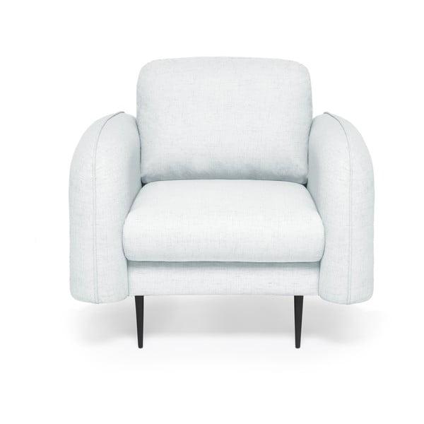 Jasnoniebieski fotel Vivonita Skolm
