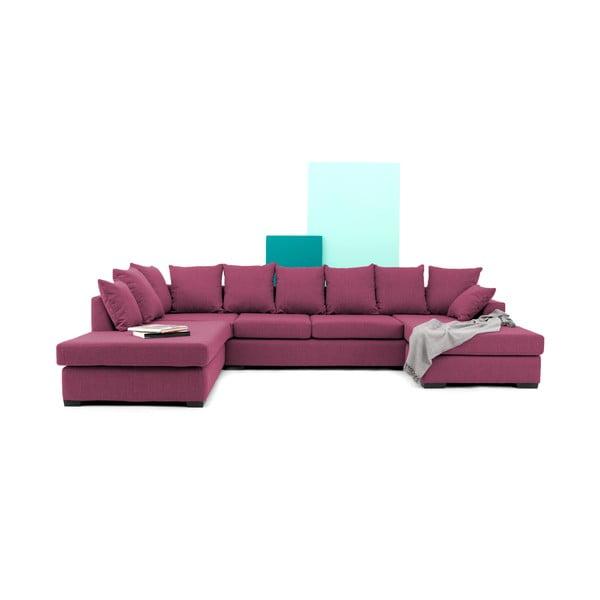 Sofa (zestaw wypoczynkowy) VIVONITA Linus, różowa