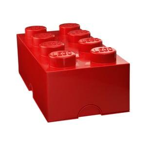 Czerwony pojemnik prostokątny LEGO®