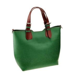 Zielona torebka skórzana Cembro