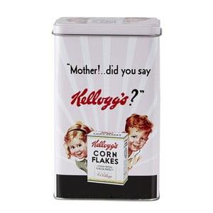 Blaszany pojemnik Kellog`s, czerwony
