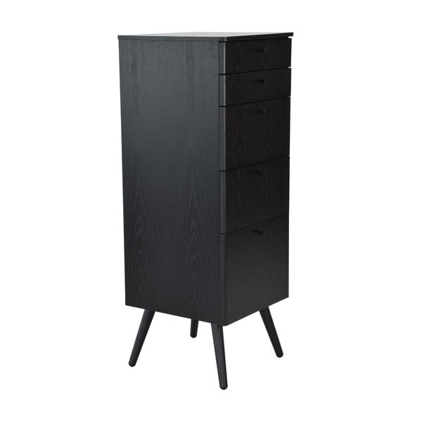 Szafka Niles, 87x40 cm, czarna