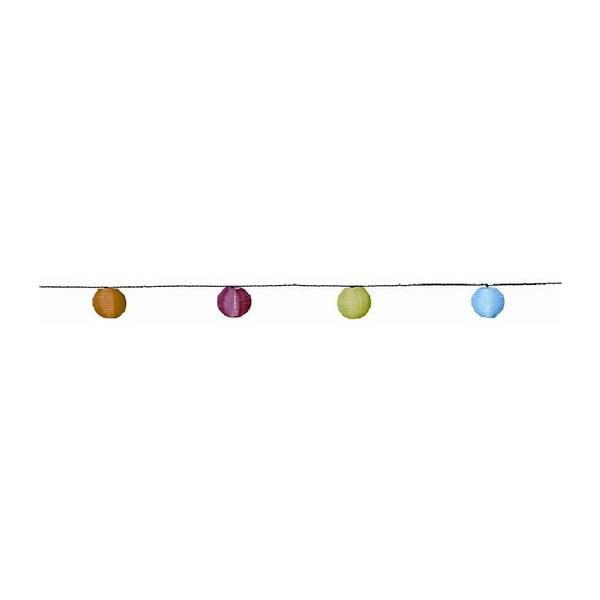 Kolorowa girlanda świetlna Balloons 450 cm