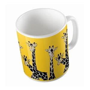 Ceramiczny kubek Friendly Giraffes, 330 ml