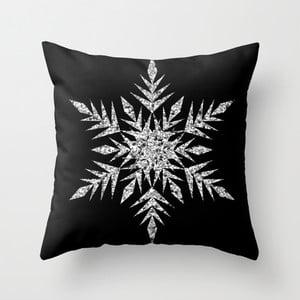 Poduszka Snowflake Silver, 45x45 cm