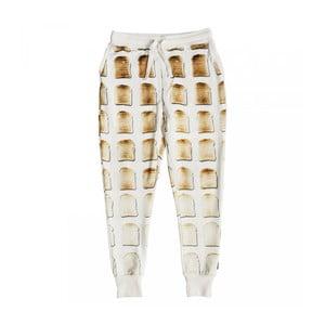 Białe spodnie damskie Snurk Toast, S