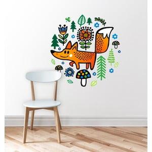 Naklejka ścienna Fox Animal, 59x84 cm