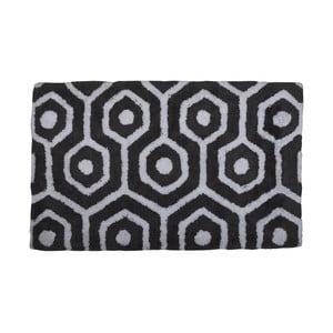 Dywanik łazienkowy Grey and White, 50x80 cm