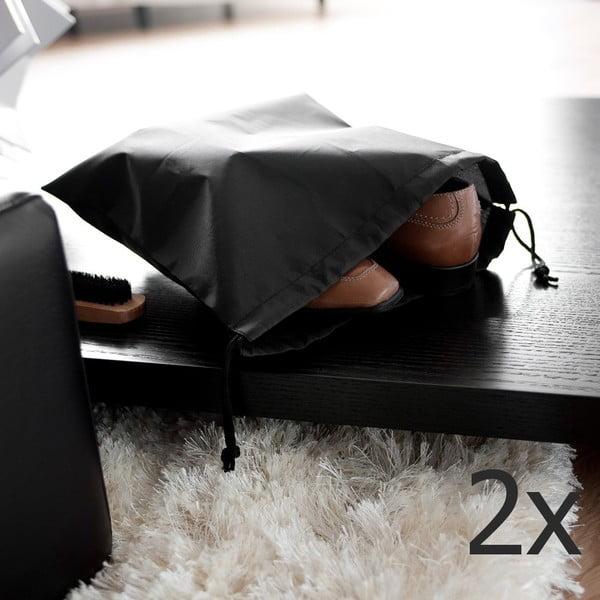 Zestaw 2 czarnych worków na obuwie Compactor Bags