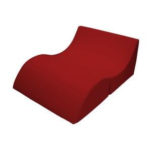 Czerwony szezlong rozkładany 13Casa Cleo