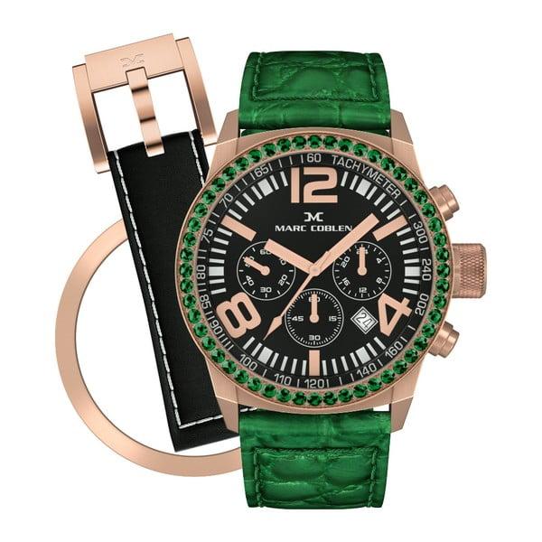 Zegarek damski Marc Coblen z dodatkowym paskiem i obręczą P800