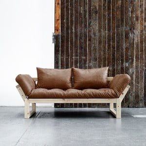 Sofa Karup Vintage Edge Natural/Choco