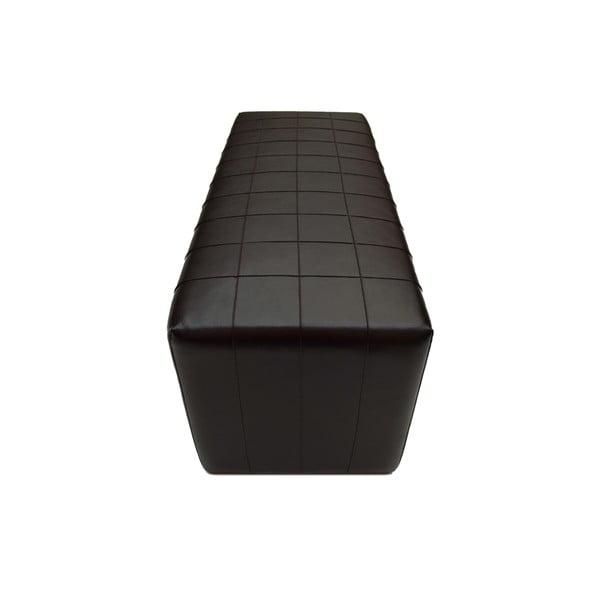 Puf ze skóry wegańskiej Power 06, 100 cm