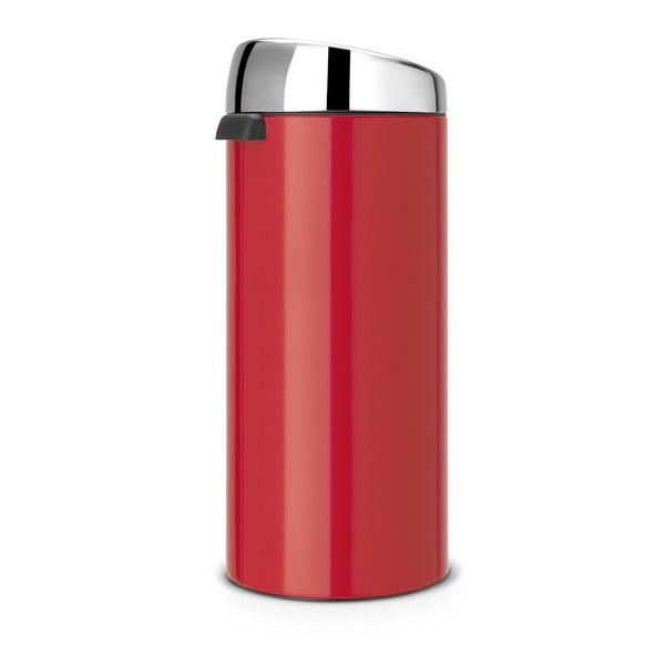 Dotykowy kosz na śmieci Touch Bin, 30 l, czerwony