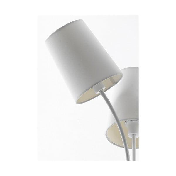 Biała lampka stołowa Tomasucci Tris