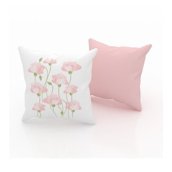 Zestaw 2 poduszek Poppy, 43x43 cm