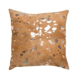 Poduszka Capa Beige Silver, 45x45 cm