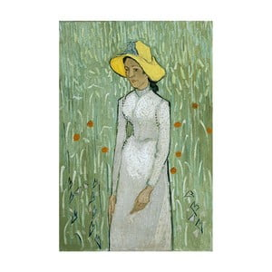 Reprodukcja obrazu Vincenta van Gogha - Girl in White, 40x26 cm