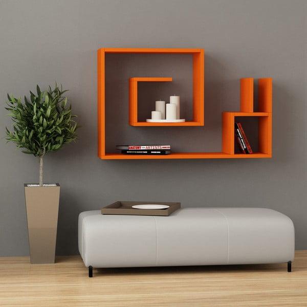 Półka wisząca Salyangoz, pomarańczowa