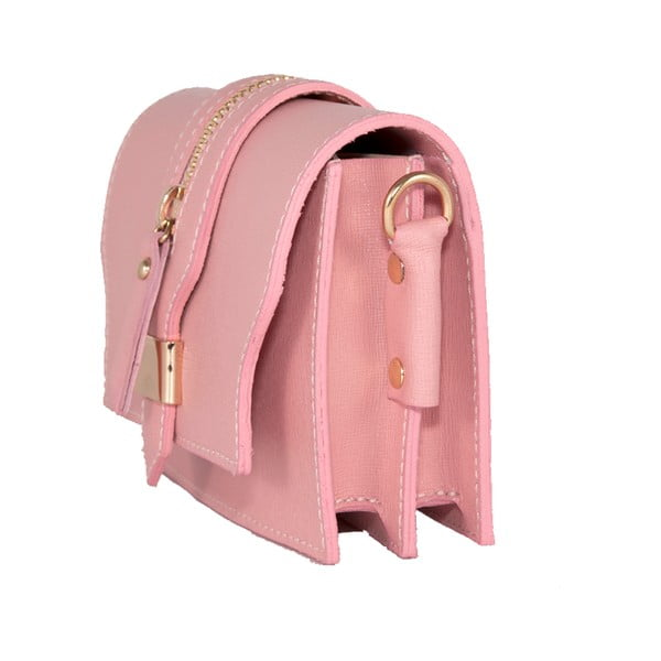 Torebka skórzana Andrea Cardone 2018 Pink