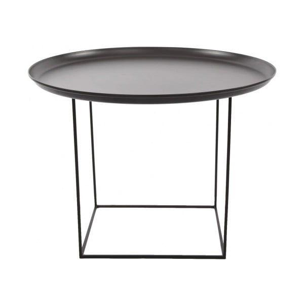 Czarny stolik NORR11 Duke Medium