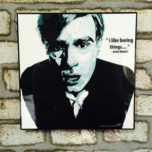 "Obraz ""Andy Warhol"""