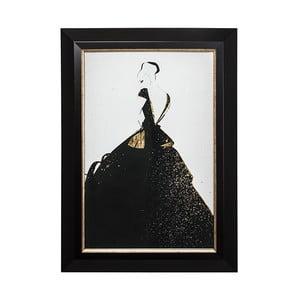 Obraz w metalizowanej ramie Graham & Brown Fashion,50x70cm