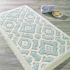 Turkusowy dywanik łazienkowy Confetti Bathmats Sierra, 55x57cm