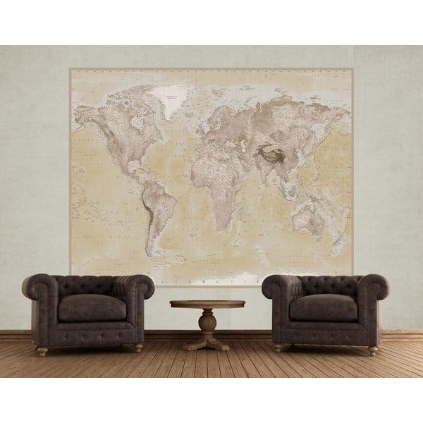 Tapeta   wielkoformatowa Map, 158x232 cm