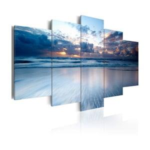 Wieloczęściowy obraz na płótnie Bimago Endless Water, 50x100cm