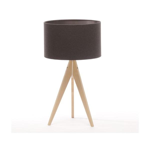 Lampa stołowa Artist Dark Grey/Natural Birch