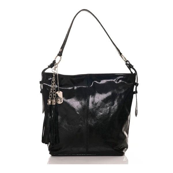 Skórzana torebka Hobo Black
