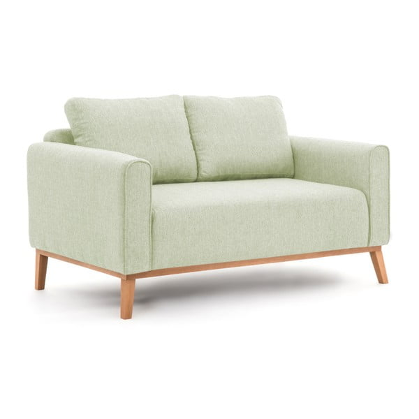 Miętowa sofa 2-osobowa Vivonita Milton