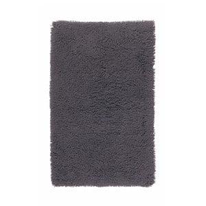 Antracytowy dywanik łazienkowy Aquanova Mezzo, 70x120 cm