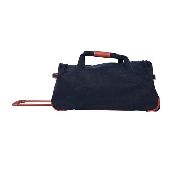 Podróżna torba na kółkach Jean Louis Scherrer Black, 76.5 l